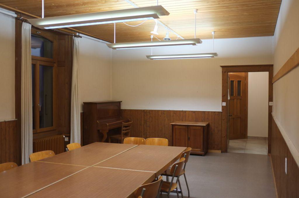 Salle de paroisse de Colombier - Milvignes