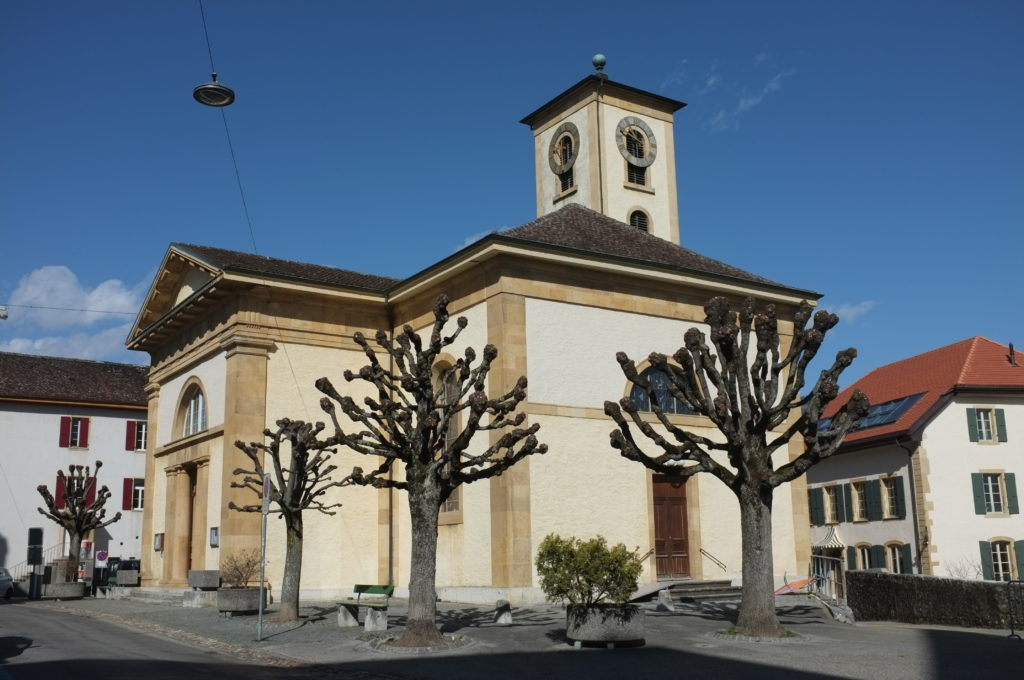 Temple de Colombier (photo: Nicolas Friedli)