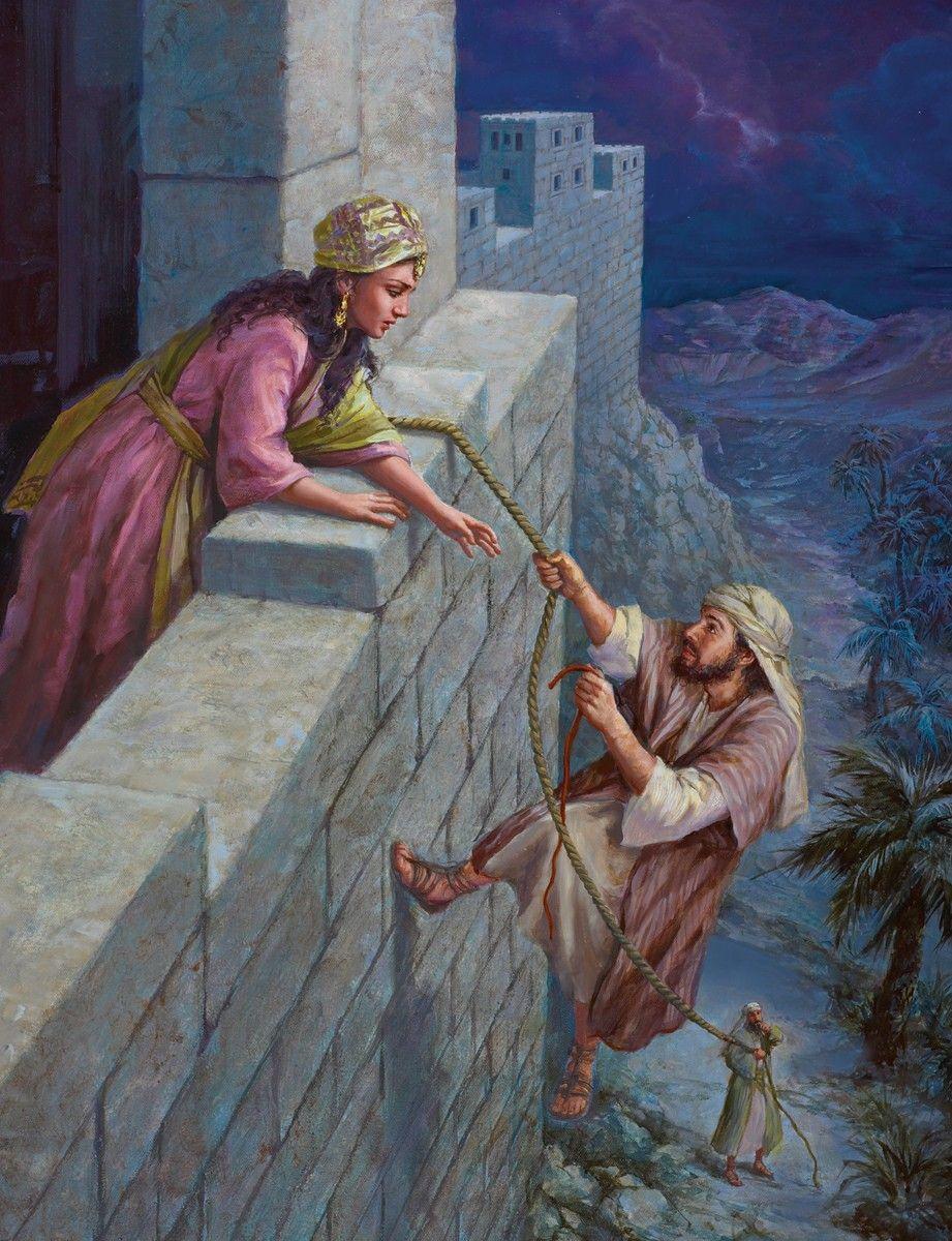 Culte : Rahab, prostituée et modèle de foi