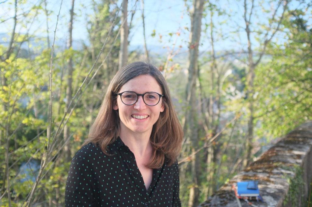 Diane Friedli, pasteure à Auvernier et Colombier