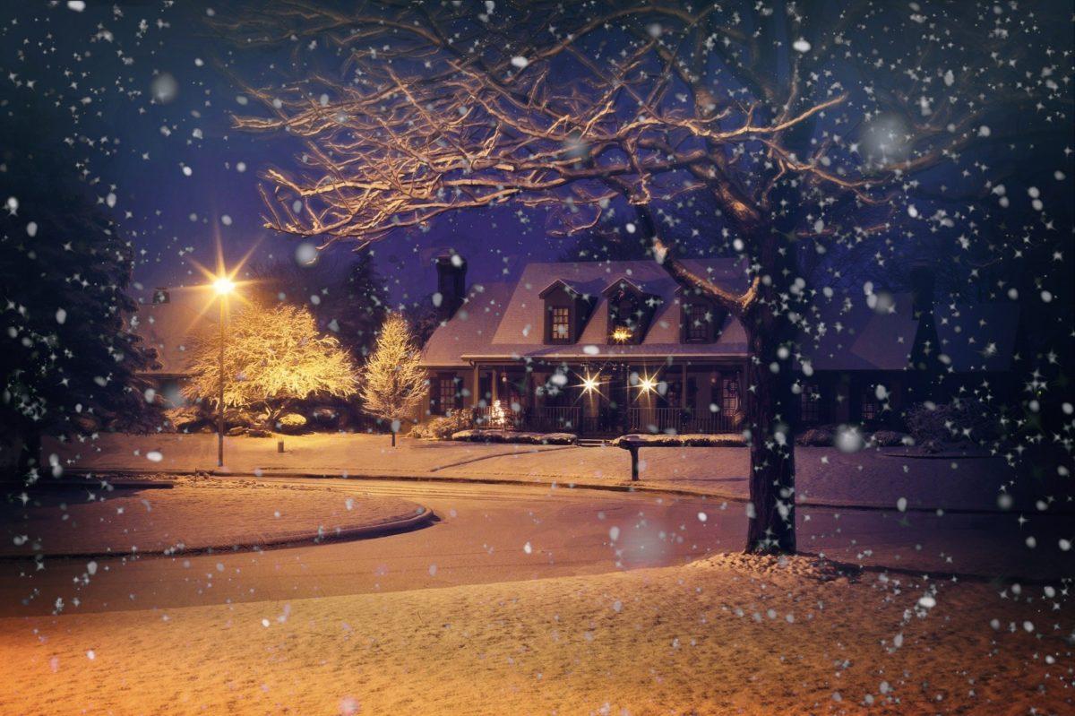 Reviens à la maison pour Noël!