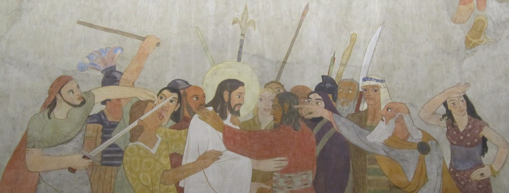jésus-foule