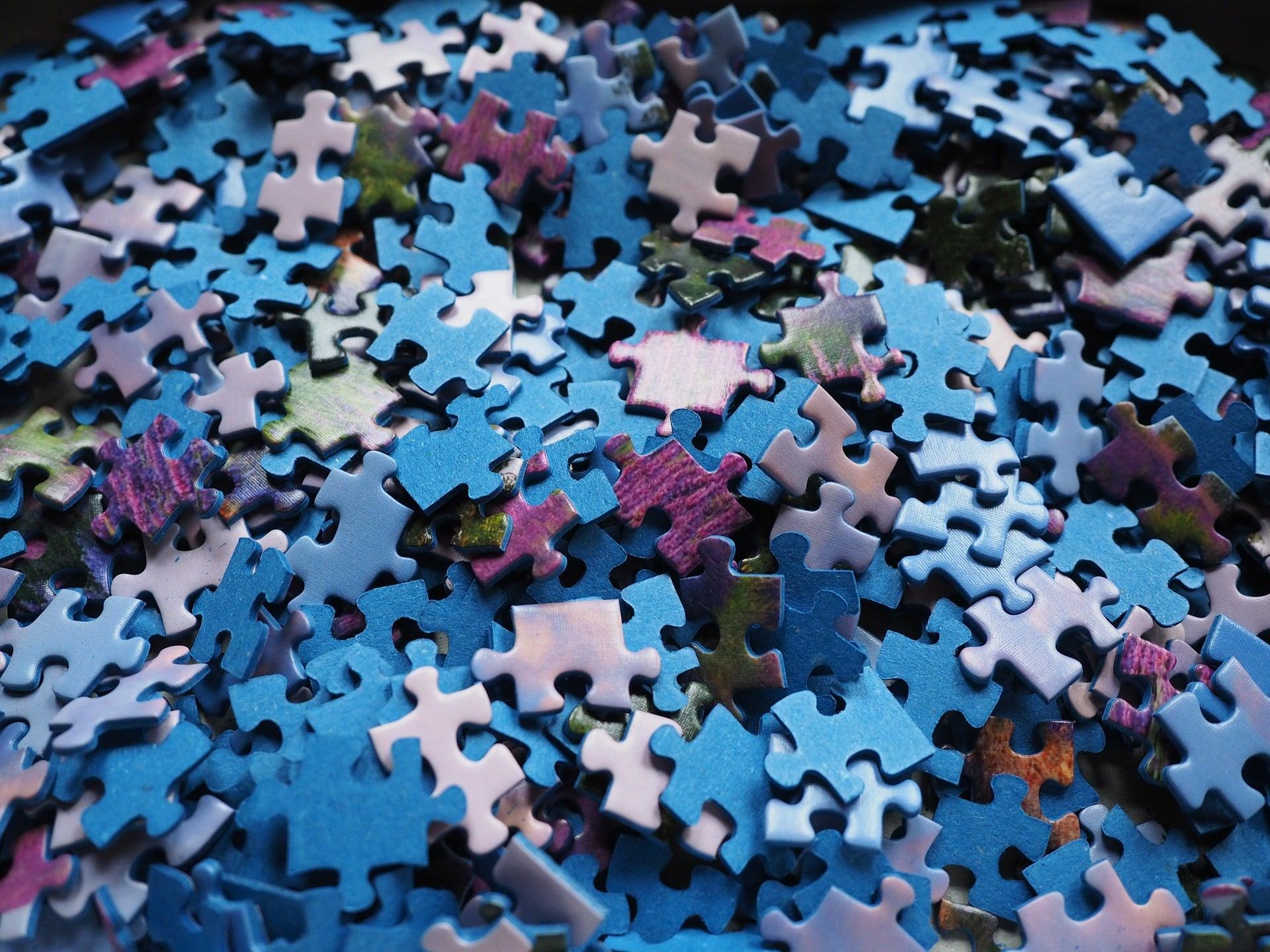 Un puzzle pour l'éveil à la foi