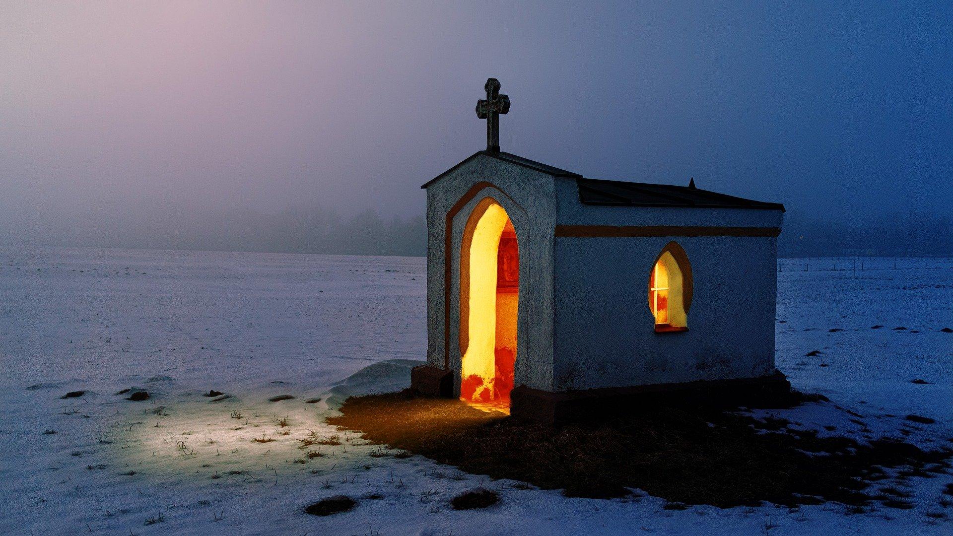 église ouverte - chapelle