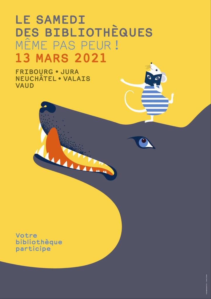 Samedi des bibliothèques - 13 mars 2021